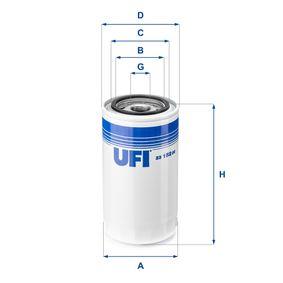 UFI Filtro olio 23.152.00 acquisti con uno sconto del 34%