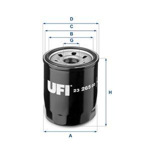 23.265.00 Filter UFI Erfahrung