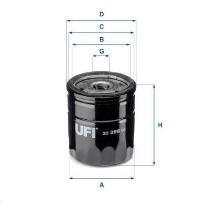 Motorölfilter UFI 23.298.00