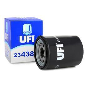 Comprare 23.438.00 UFI con una valvola blocco arretramento Diametro interno 2: 54,0mm, Ø: 65,0mm, Diametro esterno 1: 62,0mm, Alt.: 85,0mm Filtro olio 23.438.00 poco costoso