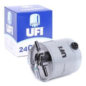 24.026.01 UFI Höhe: 122,5mm Kraftstofffilter 24.026.01 günstig kaufen