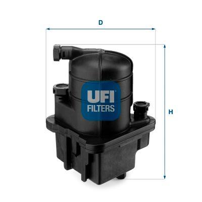 UFI Kraftstofffilter 24.088.00