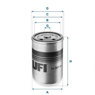 Original IVECO Dieselfilter 24.307.00