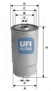 Original HYUNDAI Palivový filtr 24.460.00