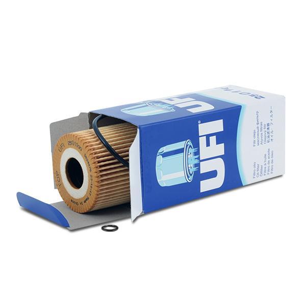 2501100 Oliefilter UFI 25.011.00 - Stort udvalg — stærkt reduceret