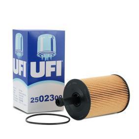 25.023.00 UFI Vnitřni průměr 2: 29,0mm, Vnitřni průměr 2: 16,0mm, R: 72,0mm, Výška: 141,0mm Olejový filtr 25.023.00 kupte si levně