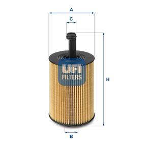 25.023.00 Olejový filtr UFI originální kvality