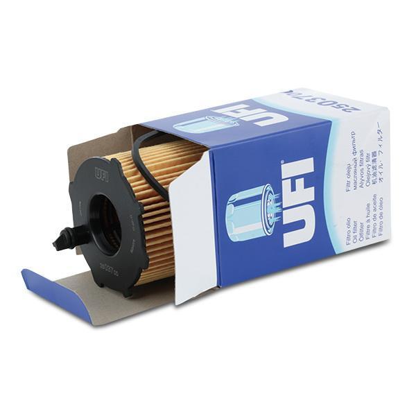 25.037.00 Filtro olio UFI prodotti di marca a buon mercato