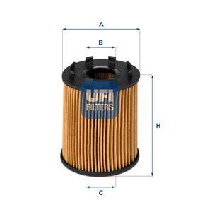 25.043.00 Wechselfilter UFI - Markenprodukte billig