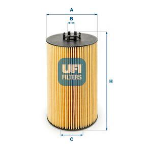 Ölfilter UFI 25.046.00 mit 31% Rabatt kaufen