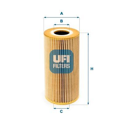 Original MERCEDES-BENZ Ölfilter 25.095.00