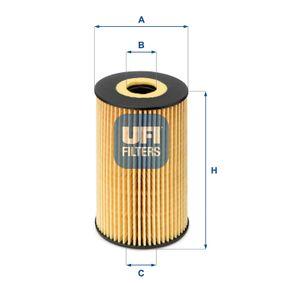 25.106.00 Olejový filtr UFI - Levné značkové produkty