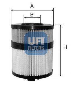Ölfilter UFI 25.108.00