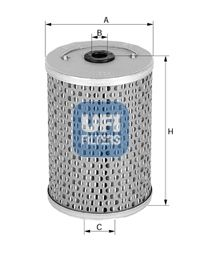 Filtro idraulico sterzo 25.461.00 UFI — Solo ricambi nuovi