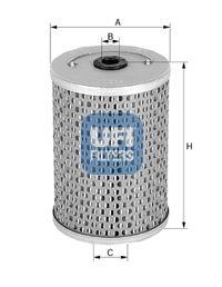 UFI Filtro olio 25.530.00