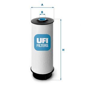 26.034.00 Bränslefilter UFI originalkvalite