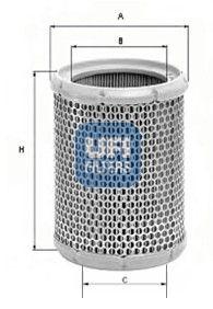 UFI Vzduchový filtr 27.066.00 DUCATI