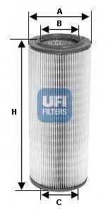 UFI Luftfilter 27.154.00
