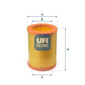 27.731.00 UFI Höhe: 171,0mm Luftfilter 27.731.00 günstig kaufen
