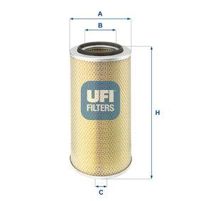 UFI Luftfilter 27.802.00 - köp med 34% rabatt