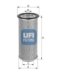 27.971.00 UFI Luftfilter billiger online kaufen