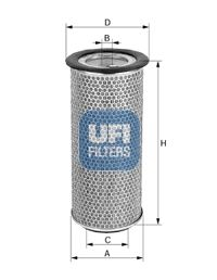 UFI Air Filter 27.971.00 for MITSUBISHI: buy online