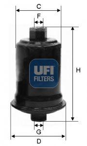 Original HYUNDAI Palivový filtr 31.556.00