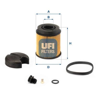 UFI Urea Filter for AVIA - item number: 44.001.00