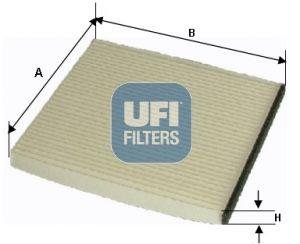 53.053.00 UFI Filter, Innenraumluft billiger online kaufen