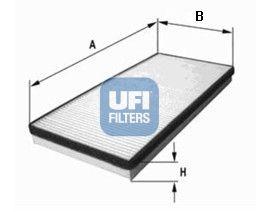 53.056.00 UFI Filter, Innenraumluft billiger online kaufen