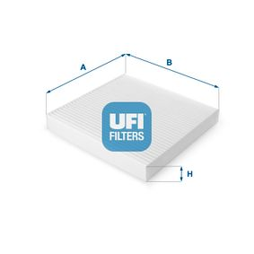 Compre e substitua Filtro, ar do habitáculo UFI 53.123.00