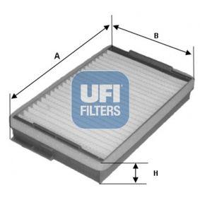 Filter, Innenraumluft UFI 53.139.00 mit 16% Rabatt kaufen