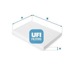 Filter, Innenraumluft 53.146.00 NISSAN QASHQAI (J11, J11_) zu stark reduzierten Preisen!