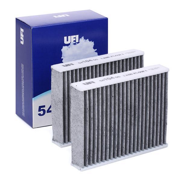 UFI   Филтър, въздух за вътрешно пространство 54.104.00