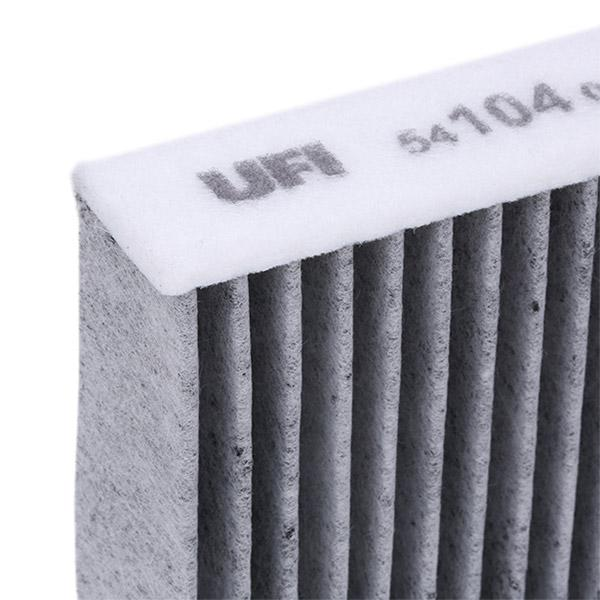 54.104.00 Филтър, въздух за вътрешно пространство UFI - опит