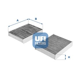 54.104.00 Filter, interior air UFI - Experience and discount prices