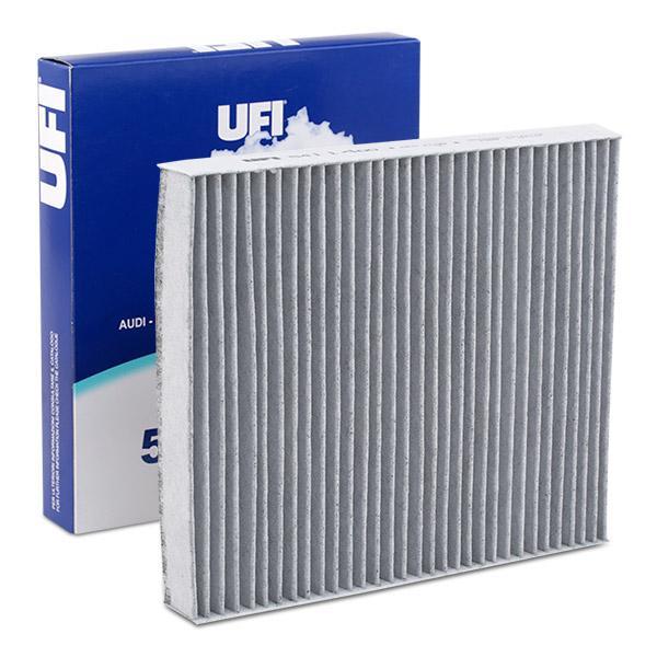 Купете 54.114.00 UFI филтър с активен въглен ширина: 215,5мм, височина: 32мм, дължина: 248мм Филтър, въздух за вътрешно пространство 54.114.00 евтино