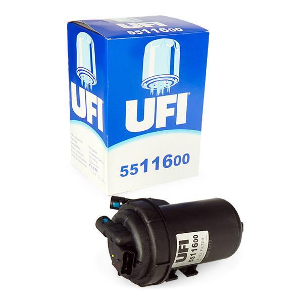Buy Fuel filter UFI 55.116.00 Height: 222mm