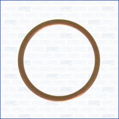 FORD SCORPIO 1995 Ölablaßschraube Dichtung - Original AJUSA 21019500 Dicke/Stärke: 1,5mm, Ø: 27mm, Innendurchmesser: 22mm