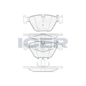 D12607799 ICER Achsausf.: Front Höhe 2: 68,37mm, Höhe: 68,5mm, Dicke/Stärke 2: 20,3mm, Dicke/Stärke: 18,9mm Bremsbelagsatz, Scheibenbremse 181998 günstig kaufen