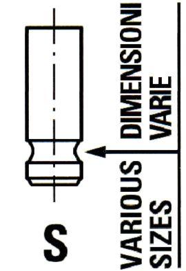 OE Original Einlaßventil VL134600 IPSA
