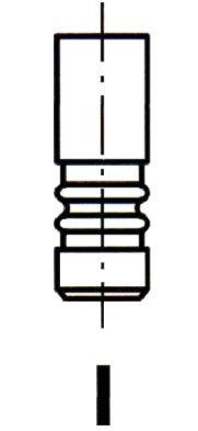 Original MINI Einlaßventil VL166800