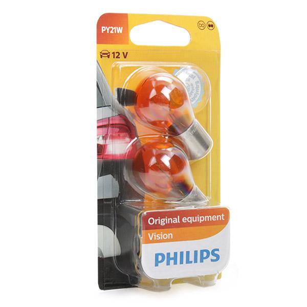 Pieces detachees RENAULT LODGY 2020 : Ampoule, feu clignotant PHILIPS 12496NAB2 - Achetez tout de suite!