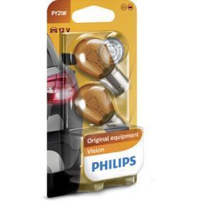 12496NAB2 Ampoule, feu clignotant PHILIPS - Produits de marque bon marché
