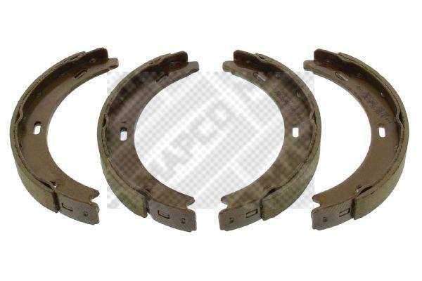 MERCEDES-BENZ CLA Bremsklötze für Trommelbremse - Original MAPCO 8839 Breite: 20mm