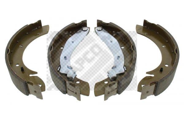8845 MAPCO Hinterachse, mit Hebel Breite: 42mm Bremsbackensatz 8845 günstig kaufen