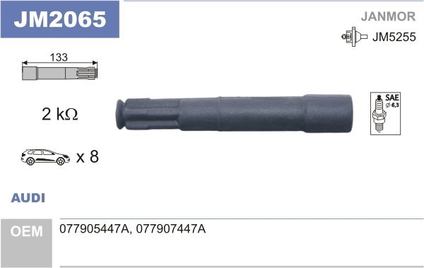 kjøpe Plugg, tennplugg JM2065 når som helst