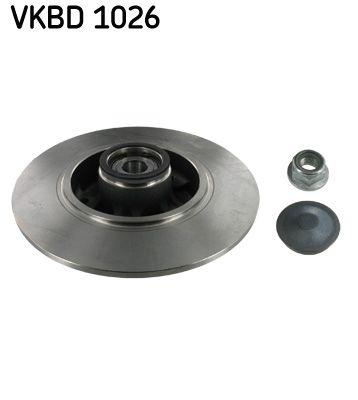 Origine Disque SKF VKBD 1026 (Ø: 260, 55mm, Jante: 5Trou, Épaisseur du disque de frein: 8mm)