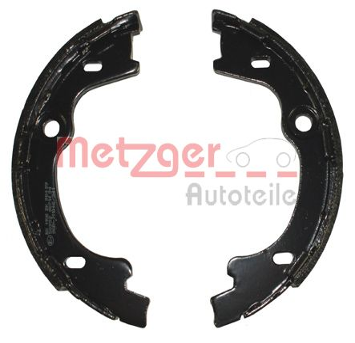 METZGER | Bremsbackensatz, Feststellbremse MG 126