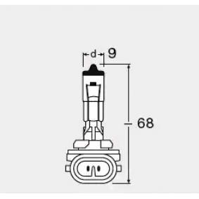 881 Lampadina, Faro principale OSRAM 881 - Prezzo ridotto